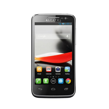 alcatel one touch evolve 2 black no contract t mobile. Black Bedroom Furniture Sets. Home Design Ideas