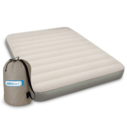 Aerobed 2000011072 Single High Full Size with 120V Pump Airbed ...