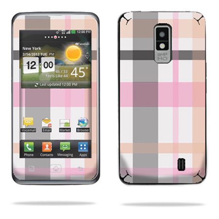 Skin Decal Wrap for LG Spectrum 4G Cell Phone sticker Bamboo