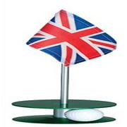 Anne Stone Golf Putt-A-Round UK Flag 1 Putting Aid, Green, Small