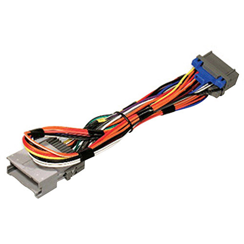 scosche gm08b 2000 up gm radio t harness 2 extension walmart
