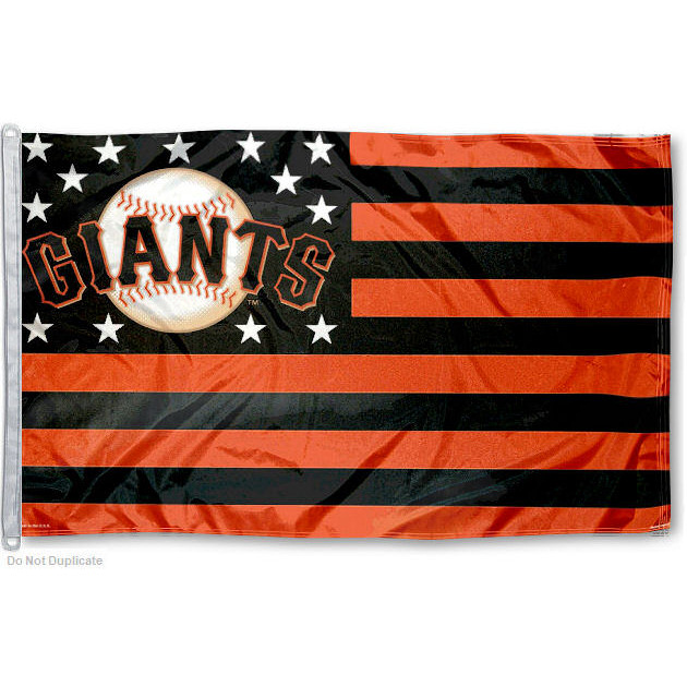 San Francisco Giants Stars and Stripes Nation 3' x 5' Flag