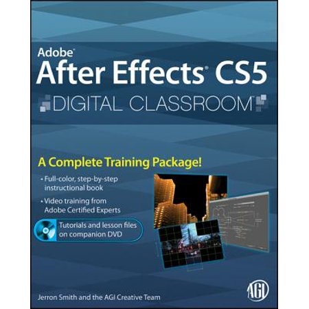 Adobe After Effects CS5 Digital Classroom - eBook (Best Render Settings For After Effects Cs5)