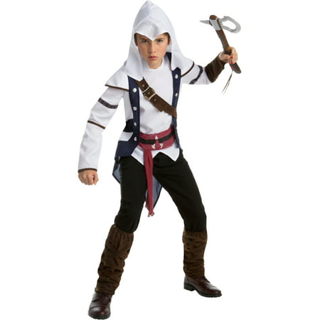 Assassin's Creed III Connor Assassin Boys Costume Bundle