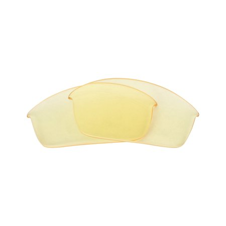Prada Gold Tortoise Lens (FLAK JACKET Replacement Lenses by SEEK OPTICS to fit OAKLEY Sunglasses )