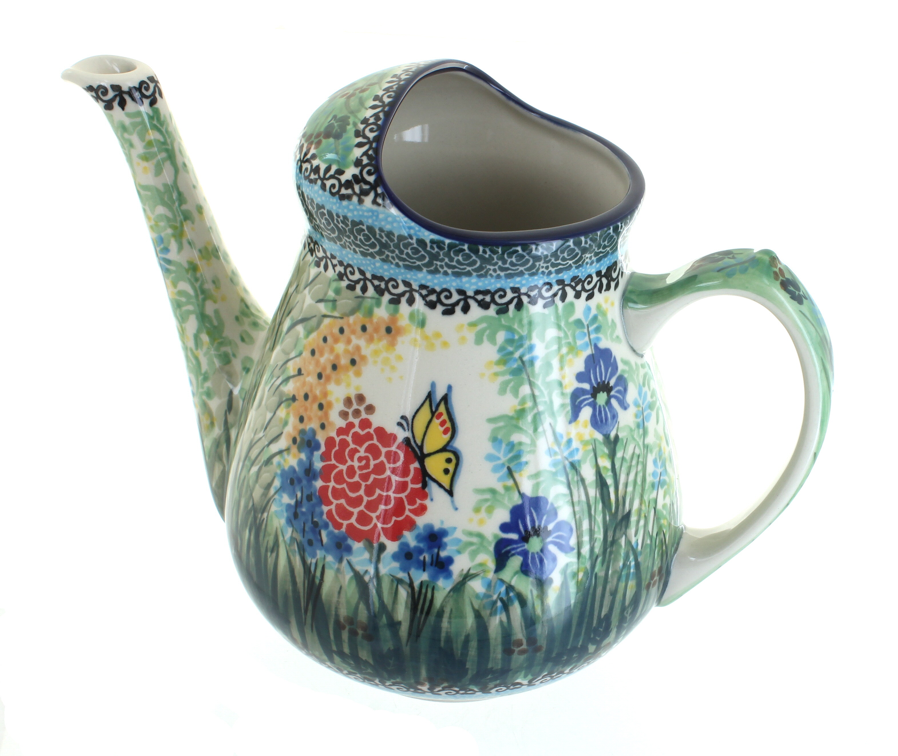 Polish Pottery Teresa Watering Can by Watering Cans