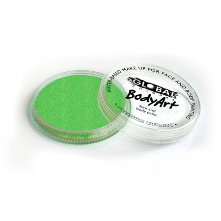 Global Body Art Face Paint - Standard Lime Green 32gr](Uv Light Body Paint)