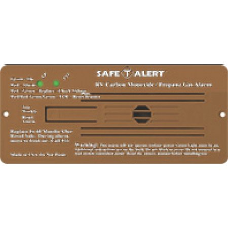 MTI Industries 35-742-BR Safe-T-Alert 35 Series 12V Brown Flush Mount Dual RV Propane/LP & Carbon Monoxide (Rv Series Guitar)