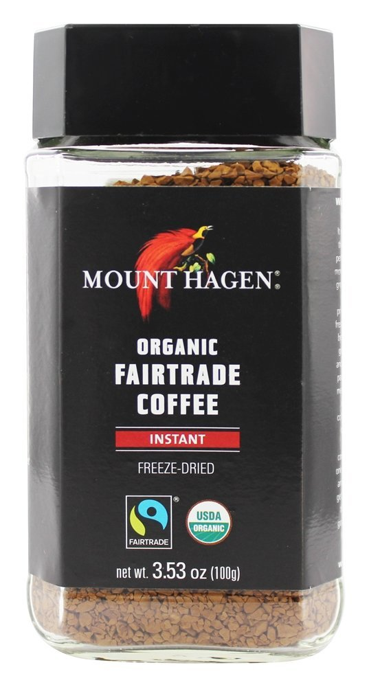 Mount Hagen Organic Instant Coffee Freeze Dried 3.53 oz. by