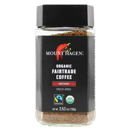 Mount Hagen Coffee Instant Jar Regulr,3.53Oz (Pack Of 6)