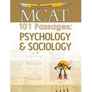Examkrackers MCAT 101 Passages: Psychology & Sociology (Paperback)
