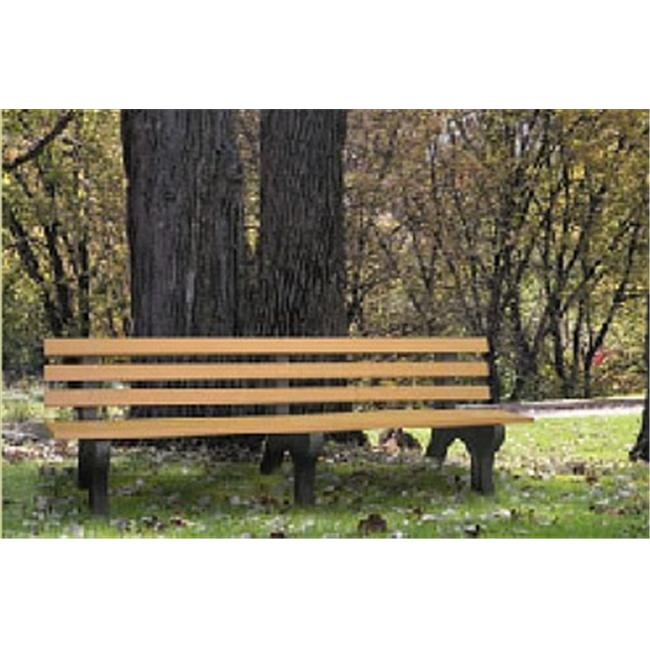 Engineered Plastic Systems GB8 8ft Garden Bench in Cedar