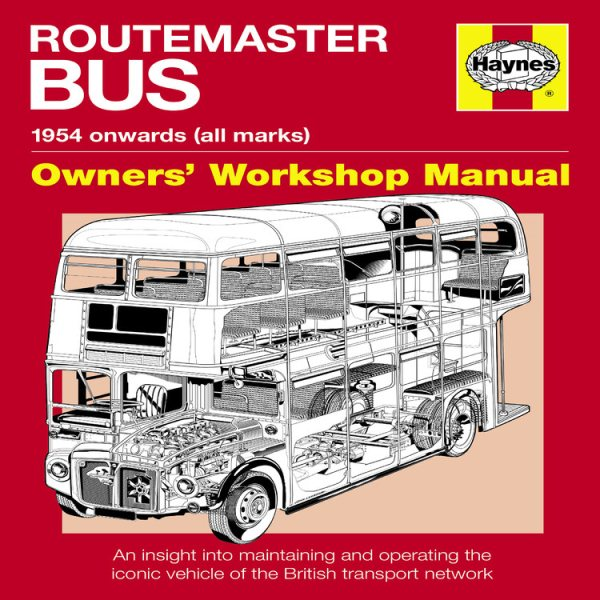 Haynes Routemaster Bus : 1954 Onwards (All Marks)
