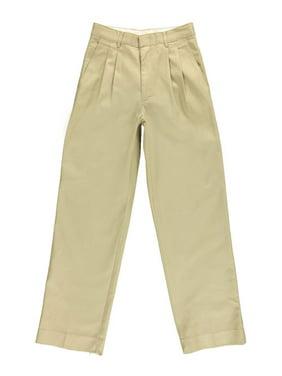 Rifle Big Boys' Husky Basic Pleated Pants (Husky Sizes)
