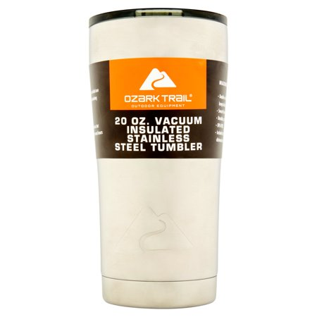 Ozark Trail 20-Ounce Double-Wall, Vacuum-Sealed Tumbler ONLY $6.74
