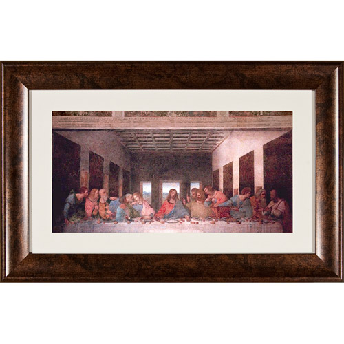Pro Tour Memorabilia Last Supper Framed Artwork by Pro Tour Memorabilia