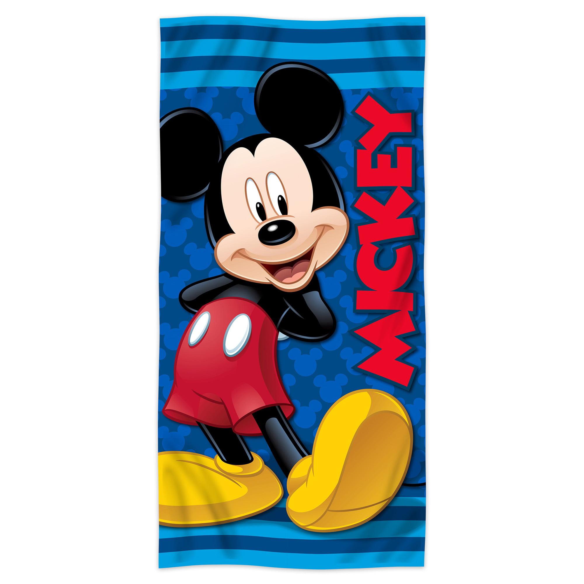 Disney Minnie Mouse Clubhouse Fiber Reactive Beach Towel Happy Helper