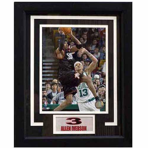 NBA 11x14 Deluxe Photo Frame, Allen Iverson Philadelphia 76ers