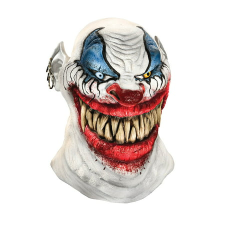 Latex Mask - Chopper The Clown - Adult Costume Accessory - Latex Clown