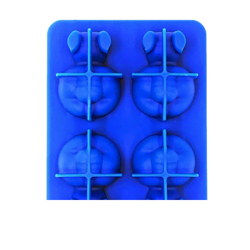 Mosunx Panda Shape Ice Lattice Freeze Ice Tray Pudding Jelly Maker Mold Ice Cube