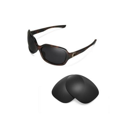 32e5c7ac0a Walleva - Walleva Black Polarized Replacement Lenses for Oakley Pulse  Sunglasses - Walmart.com
