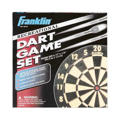 Franklin Sports Recreational Dart Game Set Walmart Com