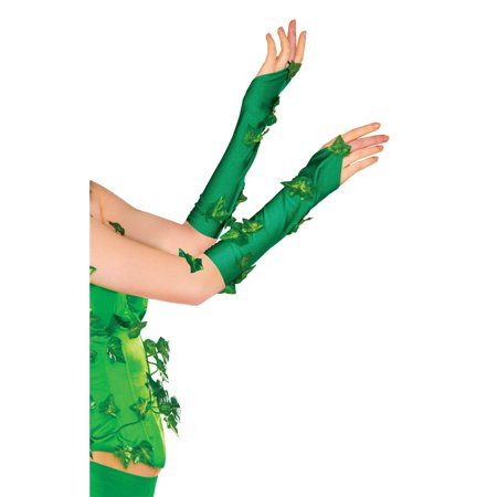 Poison Ivy Glovelets Adult
