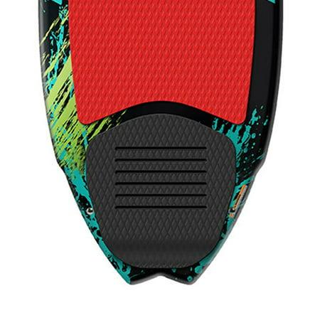 Airhead Pfish Beginner to Advanced 2 Fin Skim Style Wakesurf WakeBoard (2