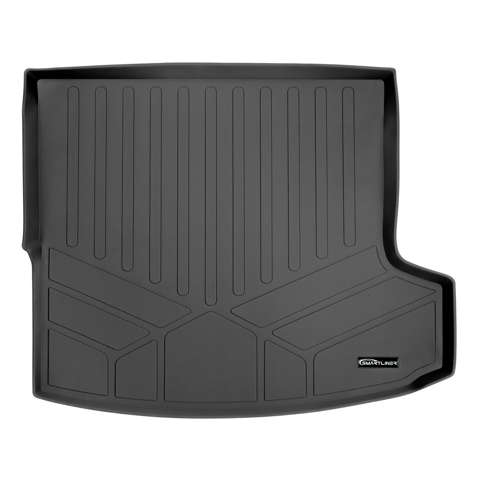 Smartliner All Weather Cargo Liner Floor Mat Black For