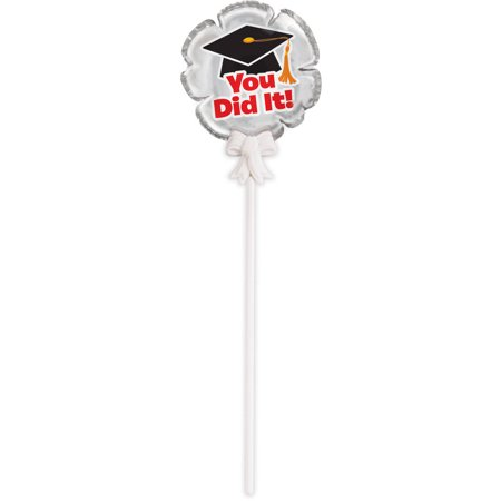 Mini Graduation Self Inflating Balloons, 3ct (Graduations Decorations)