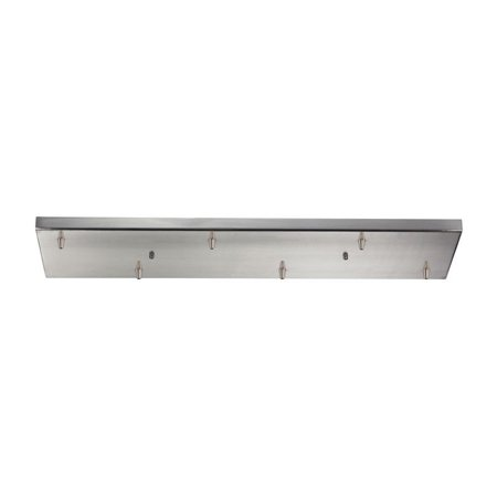 Elk Lighting Illuminare Accessories 6 Light Pan in Satin Nickel