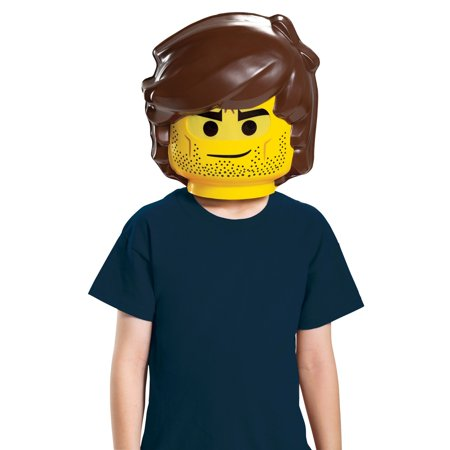 Halloween Lego Movie 2: Rex Dangervest Child Mask