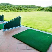 Best Golf Practice Mats - Golf Practice Pad,Ymiko 1m x 1.25m Portable Golf Review