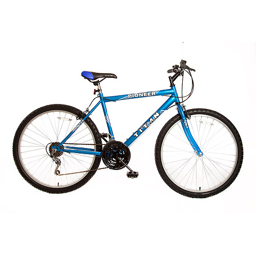 "26"" Titan Pioneer Men's Mountain Bike, Blue"