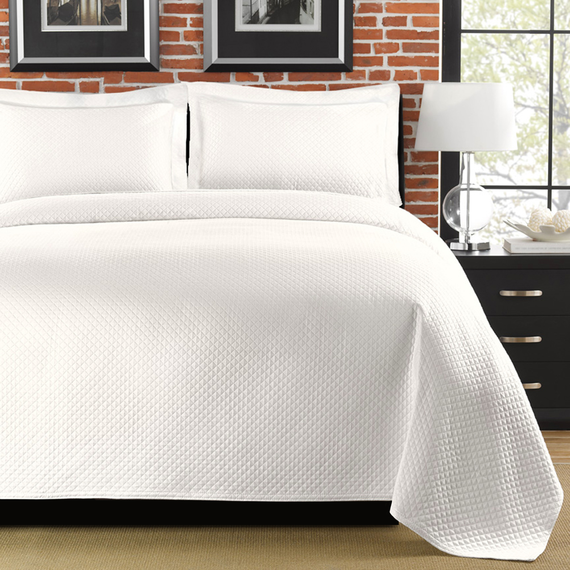 032672501196 Upc Lamont Home Diamante King Coverlet