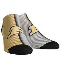 Purdue Boilermakers Rock Em Socks Youth Campus Stripe Ankle Socks - No Size