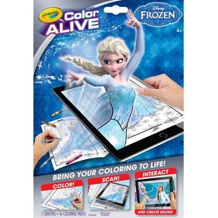 crayola color alive frozen