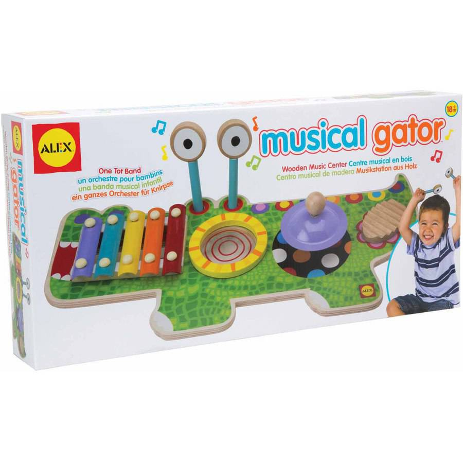 ALEX Toys Musical Gator by Overstock