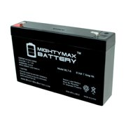 Ride On Replacement 6V 7AH Battery For Kids Ride On Power Car Wheels
