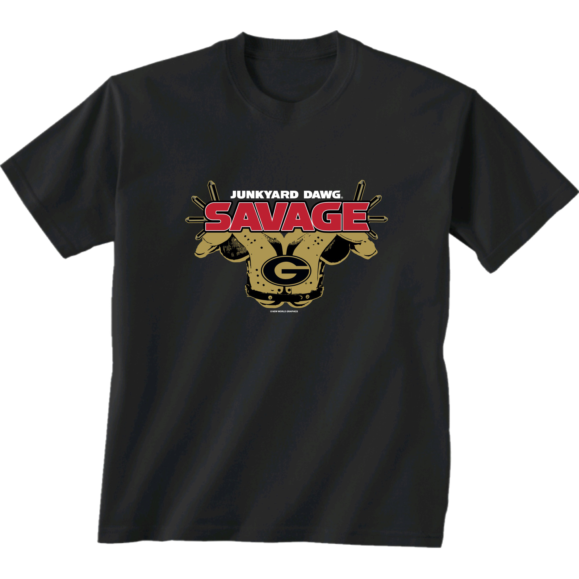 Georgia Bulldogs Savage Junkyard Dawg T-shirt