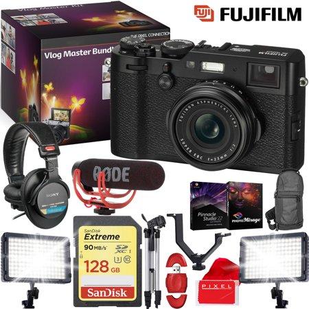 FUJIFILM X100F Digital Camera (Black) - VLOG MASTER KIT - Microphone](Halloween Day Vlog)