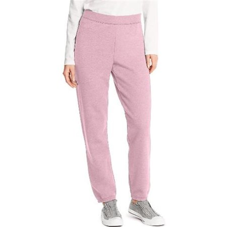 O4630 Comfortsoft Eco Smart Womens Cinch Leg Sweatpants, Pale Pink - 2XL ()