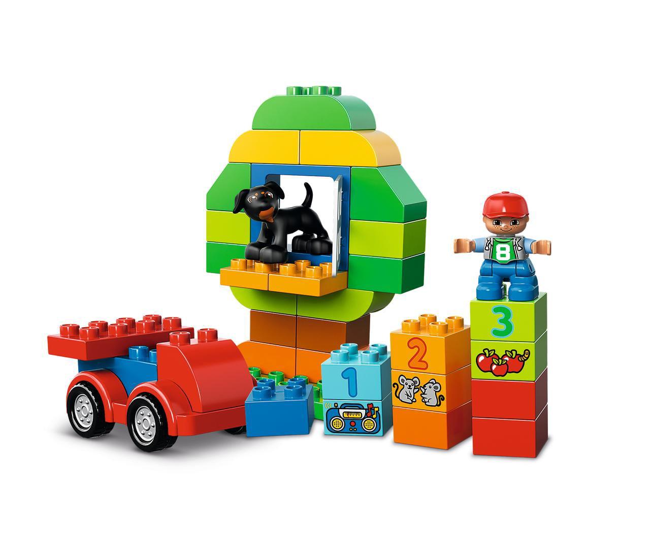 Lego 10572 Duplo Mon premier tous dans une boîte de Fun Brique Set simple jouet de conservation,