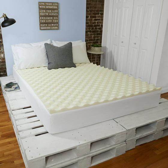 "Sleep Innovations 1.5"" Memory Foam Mattress Topper ..."