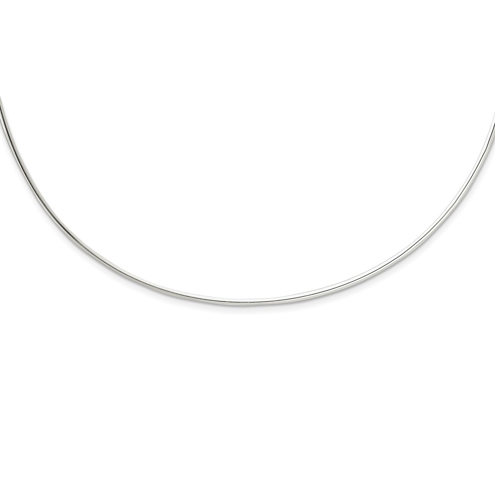 Sterling Silver Neck Collar Necklace