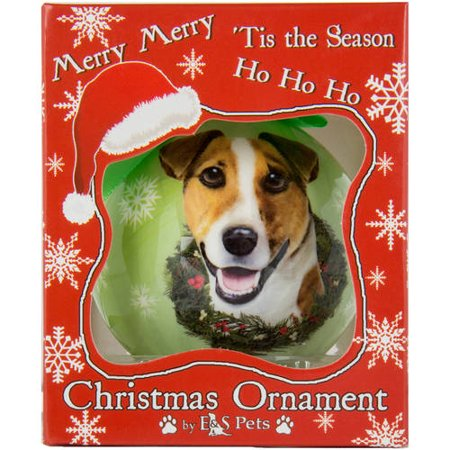 Generic Dog Collection Decorative Shatterproof Christmas Ball Ornament