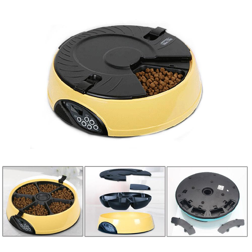 Ktaxon Automatic Pet Feeder Auto Dog Cat Food Bowl Dispenser Electronic 3 color