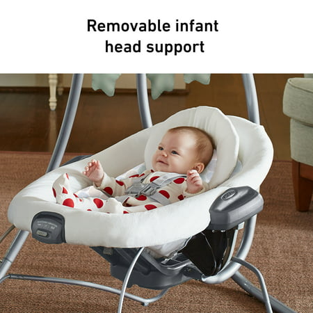Graco Simple Sway 2-in-1 Swing and Bouncer, Emersyn