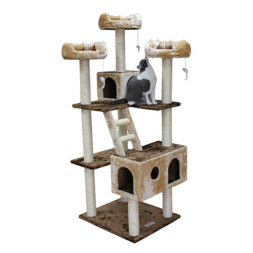 Kitty Mansions 73'' Beverly Hills Cat Tree