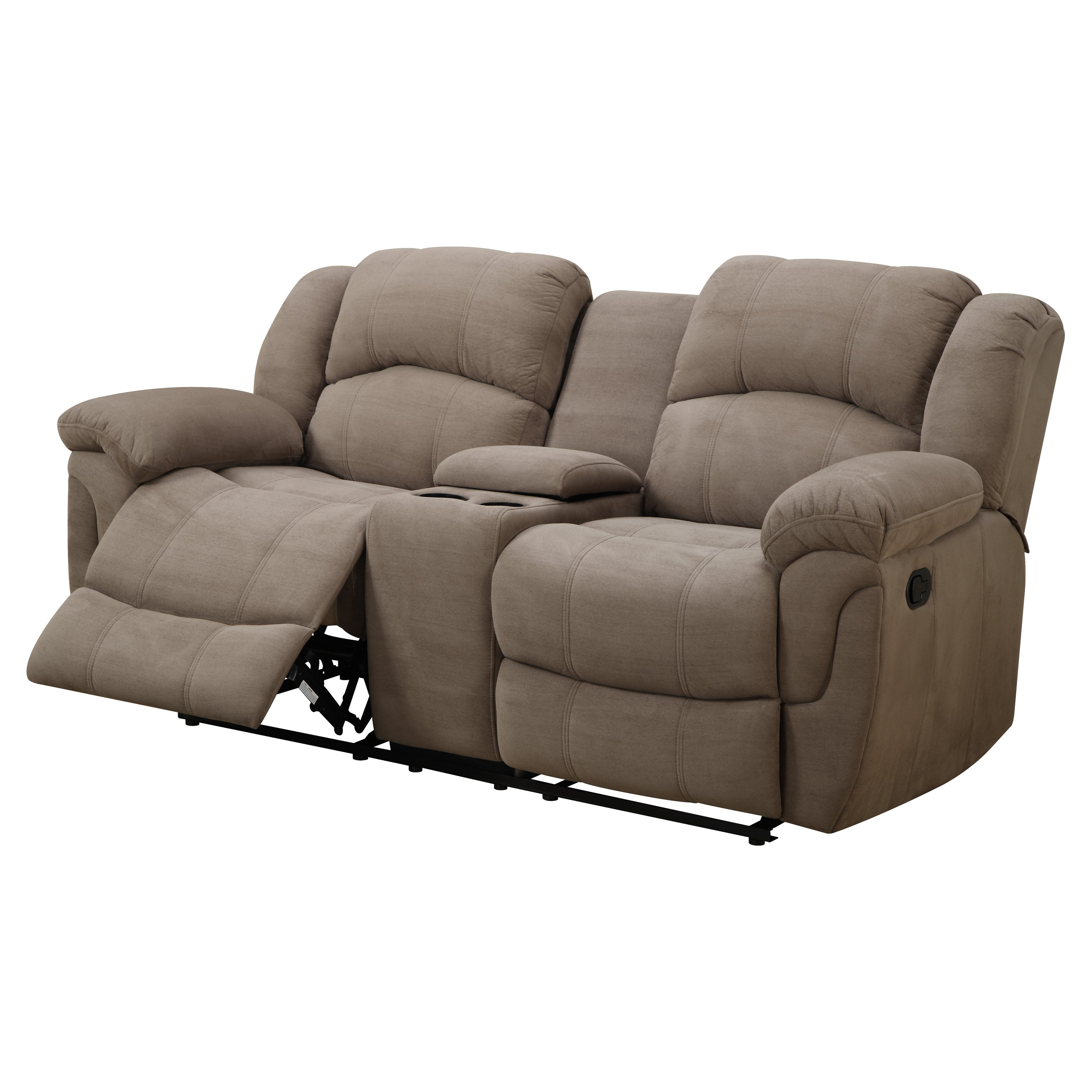 Emerald Home Hadley II Motion Loveseat With Console